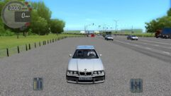 BMW M3 E36 (1.5.9) - City Car Driving мод (изображение 2)