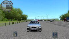 BMW M3 E36 (1.5.9) - City Car Driving мод (изображение 3)