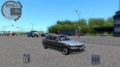 BMW M3 E36 (1.5.9) - City Car Driving мод (изображение 4)