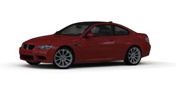 BMW M3 E92 (1.5.9) - City Car Driving мод