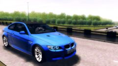 BMW M3 E92 (1.5.9) - City Car Driving мод (изображение 5)