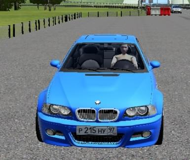 BMW M3 E46 (1.5.9) - City Car Driving мод