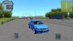 BMW M3 E46 (1.5.9) - City Car Driving мод (изображение 3)