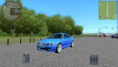 BMW M3 E46 (1.5.9) - City Car Driving мод (изображение 4)