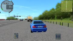BMW M3 E46 (1.5.9) - City Car Driving мод (изображение 5)