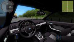 BMW M3 E46 (1.5.9) - City Car Driving мод (изображение 6)