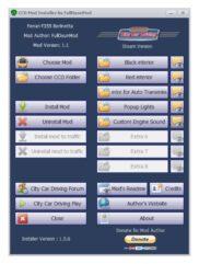 CCD Mod Installer by FullOyunMod v1.5.6 (.pkg установщик модов и экстра) - City Car Driving мод
