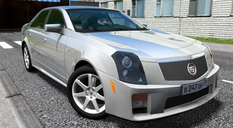 Cadillac CTS-V (1.5.9) - City Car Driving мод