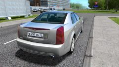 Cadillac CTS-V (1.5.9) - City Car Driving мод (изображение 3)