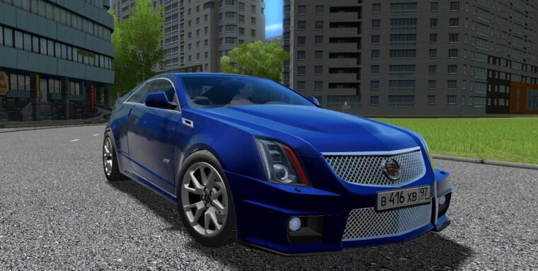 Cadillac CTS-V Coupe (1.5.9) - City Car Driving мод