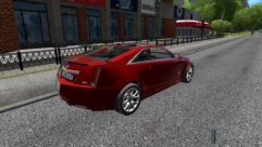 Cadillac CTS-V Coupe (1.5.9) - City Car Driving мод (изображение 2)