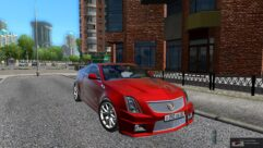 Cadillac CTS-V Coupe (1.5.9) - City Car Driving мод (изображение 3)