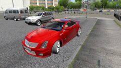 Cadillac CTS-V Coupe (1.5.9) - City Car Driving мод (изображение 4)
