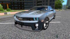 Chevrolet Camaro ZL1 (1.5.9) - City Car Driving мод (изображение 2)