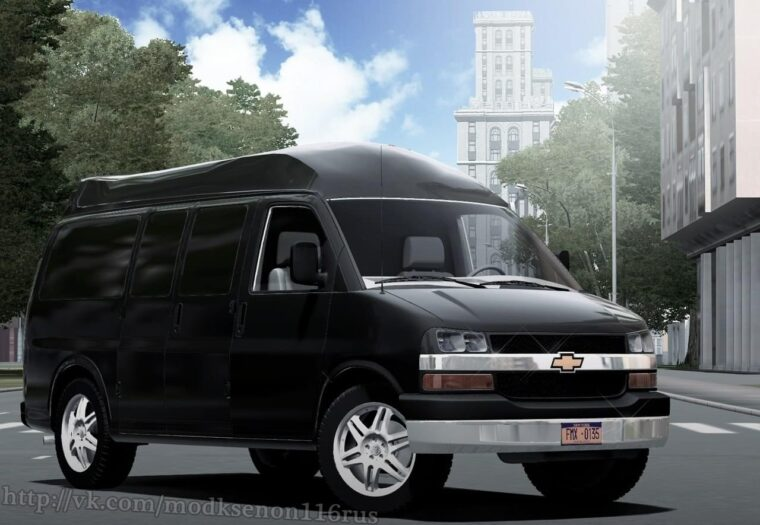 Chevrolet Express (1.5.9) - City Car Driving мод