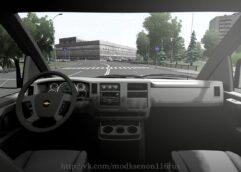 Chevrolet Express (1.5.9) - City Car Driving мод (изображение 4)