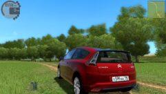Citroen C4 (1.5.9) - City Car Driving мод (изображение 4)