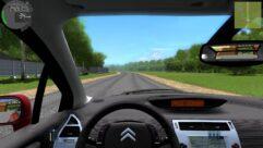 Citroen C4 (1.5.9) - City Car Driving мод (изображение 5)