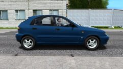 Daewoo Lanos Hatchback (1.5.9) - City Car Driving мод (изображение 2)