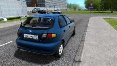 Daewoo Lanos Hatchback (1.5.9) - City Car Driving мод (изображение 3)
