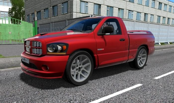 Dodge Ram SRT-10 (1.5.9) - City Car Driving мод