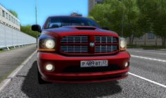 Dodge Ram SRT-10 (1.5.9) - City Car Driving мод (изображение 3)