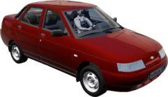 LADA 2110 (Turbo Version) (1.5.9) - City Car Driving мод