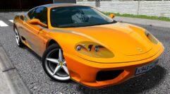Ferrari 360 Modena (1.5.9) - City Car Driving мод