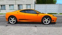 Ferrari 360 Modena (1.5.9) - City Car Driving мод (изображение 2)