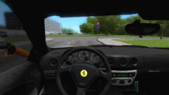 Ferrari 360 Modena (1.5.9) - City Car Driving мод (изображение 4)