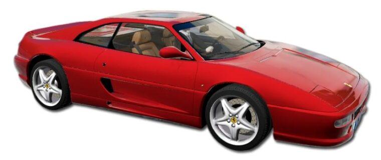 Ferrari F355 Berlinetta (устаревшая версия) (1.5.9) - City Car Driving мод
