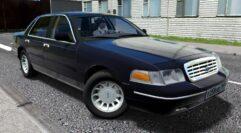 Ford Crown Victoria (устаревшая версия) (1.5.9) - City Car Driving мод