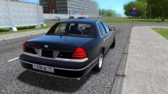 Ford Crown Victoria (устаревшая версия) (1.5.9) - City Car Driving мод (изображение 3)