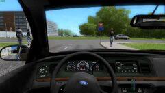 Ford Crown Victoria (устаревшая версия) (1.5.9) - City Car Driving мод (изображение 4)