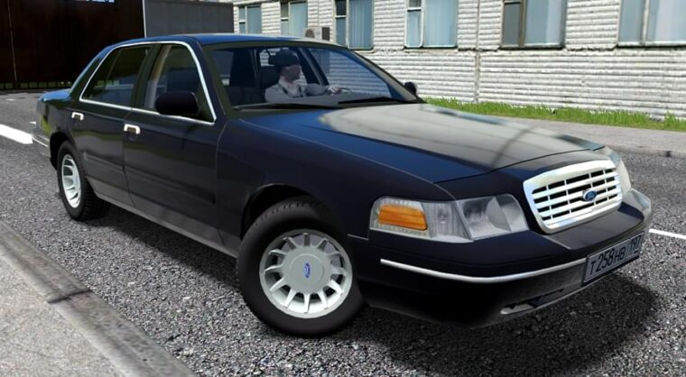 Ford Crown Victoria (1.5.9) - City Car Driving мод