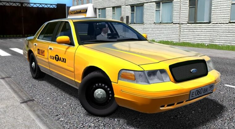 Ford Crown Victoria (Taxi Version) (устаревшая версия) (1.5.9) - City Car Driving мод