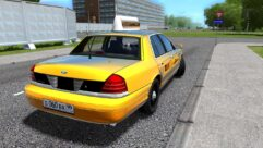 Ford Crown Victoria (Taxi Version) (устаревшая версия) (1.5.9) - City Car Driving мод (изображение 3)