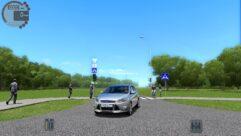 Ford Focus 3 (1.5.9) - City Car Driving мод (изображение 3)