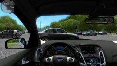 Ford Focus 3 (1.5.9) - City Car Driving мод (изображение 5)