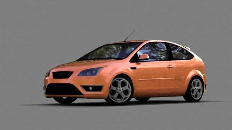 Ford Focus ST 2006 (1.5.9) - City Car Driving мод