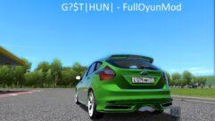 Ford Focus ST 2012 (устаревшая версия) (1.5.9) - City Car Driving мод (изображение 3)