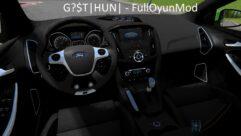 Ford Focus ST 2012 (устаревшая версия) (1.5.9) - City Car Driving мод (изображение 5)