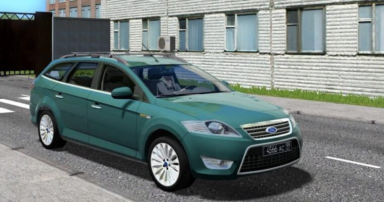 Ford Mondeo (1.5.9) - City Car Driving мод
