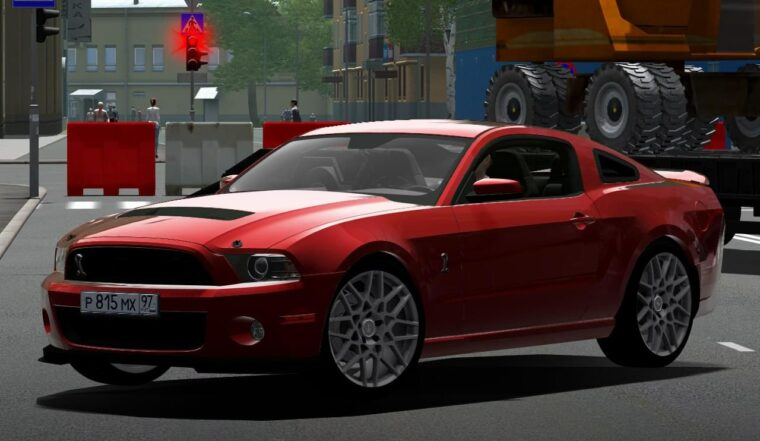 Ford Mustang Shelby GT500 (1.5.9) - City Car Driving мод