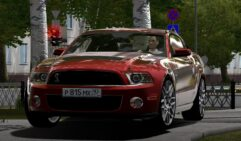 Ford Mustang Shelby GT500 (1.5.9) - City Car Driving мод (изображение 2)