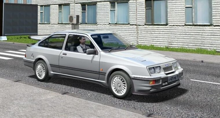 Ford Sierra RS500 Cosworth (1.5.9) - City Car Driving мод