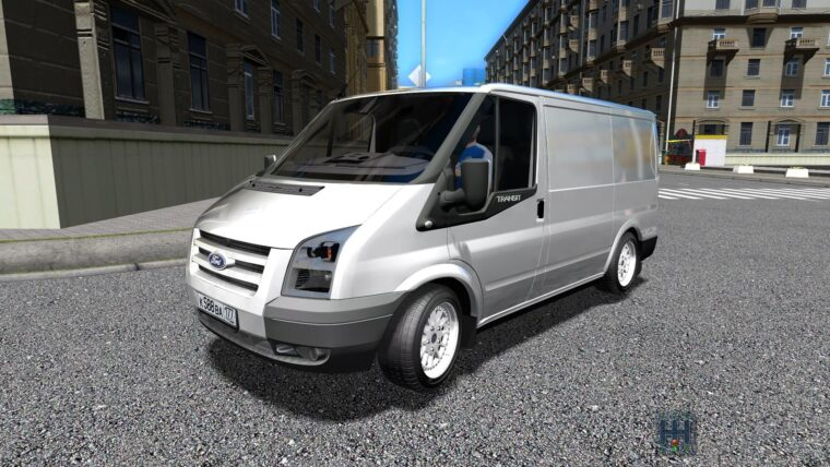Ford Transit (1.5.9) - City Car Driving мод