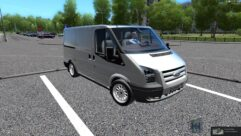 Ford Transit (1.5.9) - City Car Driving мод (изображение 3)