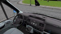 Ford Transit (1.5.9) - City Car Driving мод (изображение 4)