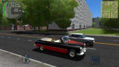 ГАЗ-12 (ZIM) Phaeton (1.5.9) - City Car Driving мод (изображение 2)